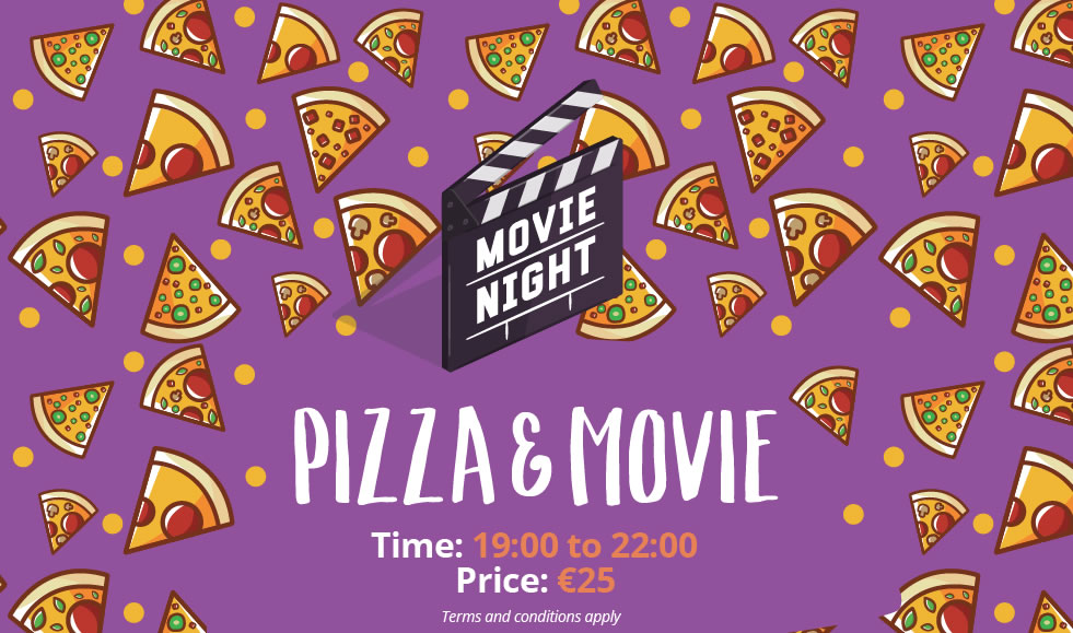Pizza and Movie Night